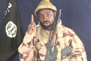 File Photo – Abubakar Shekau. wanted Boko Haram leader