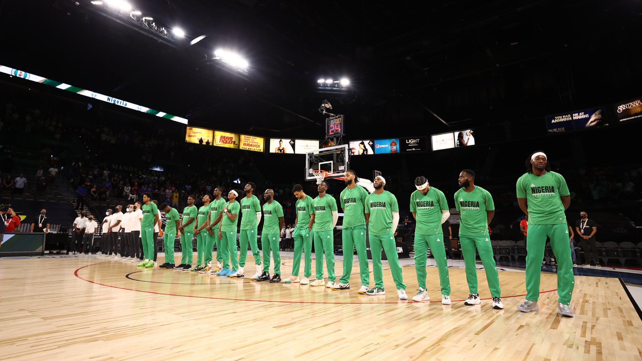 Claim that Nigeria's basketball team, D'Tigers now rank 4th in the world is MISLEADING