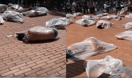 Video does NOT show Christians wrapped in plastic bags in Afghanistan